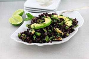 riso venere avocado lime ricetta