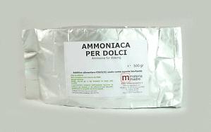 come sostituire bicarbonato di ammonio