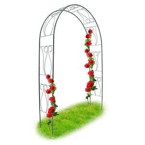 supporto per rose rampicanti