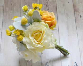 bouquet da sposa giallo 15