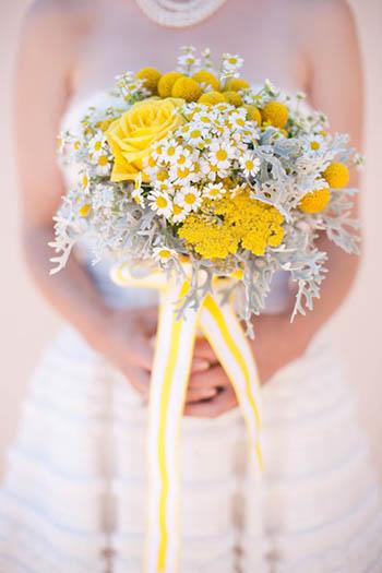 bouquet da sposa giallo web