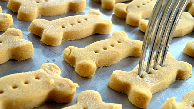 biscotti per cani alla farina di riso