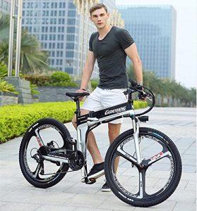 mountain bike elettrica pieghevole