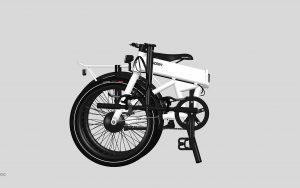 quipplan bici elettrica pieghevole