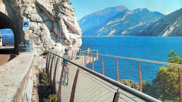 garda by bike pista ciclabile più spettacolare d'Europa