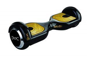 hoverboard nero e oro nilox