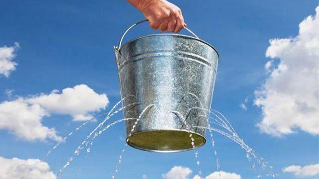 spreco acqua problema urgente