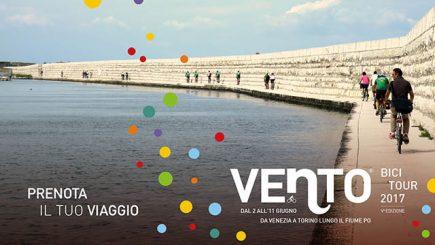 video di vento bici tour 2017 da venezia a torino in bici