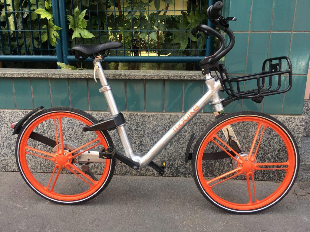 Bicicletta del bike sharing Mobike