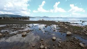 siccità: lago di bracciano ai minimi storici