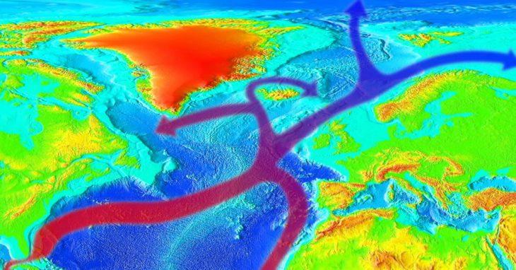 corrente del golfo si sta indebolendo
