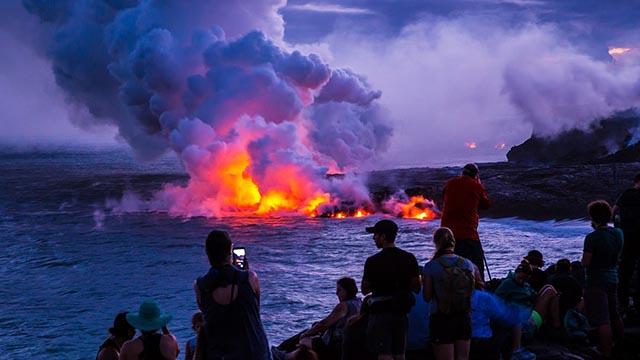 eruzione vulcano hawaii