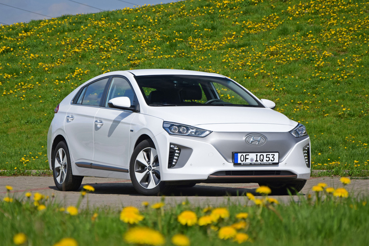 auto elettriche il modello Hyundai Ioniq Electric
