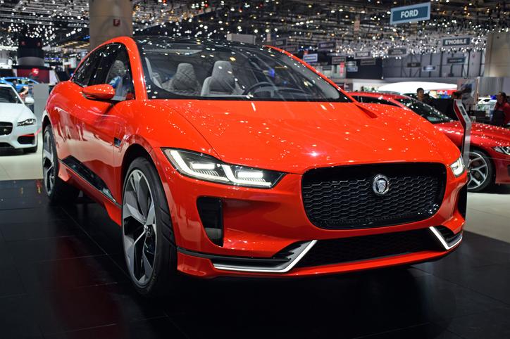 auto elettriche il modello Jaguar I-Pace