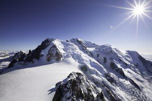 Trekking Italia sul Monte Bianco