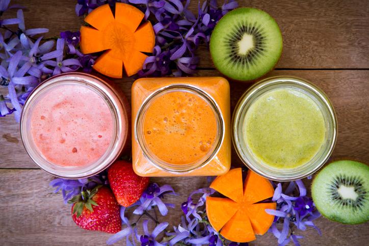 centrifugati di frutta dieci ricette estive