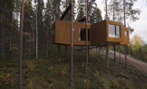 Treehotel Svezia glamping