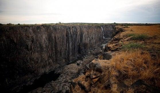 Allarme Africa cambiamento climatico Cascate Vittoria