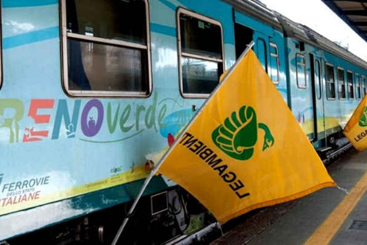 Treno Verde Legambiente 2020 contro il Climate Change