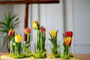 mazzo di fiori alti e bassi