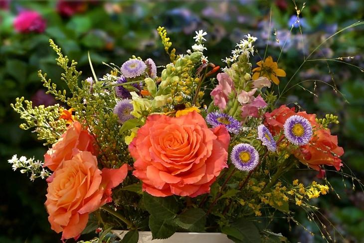 mazzo di fiori significato