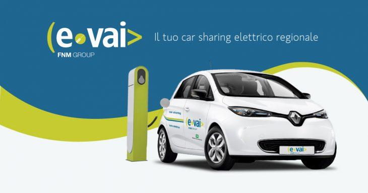evai car sharing elettrico e mobilità sostenibile in Lombardia