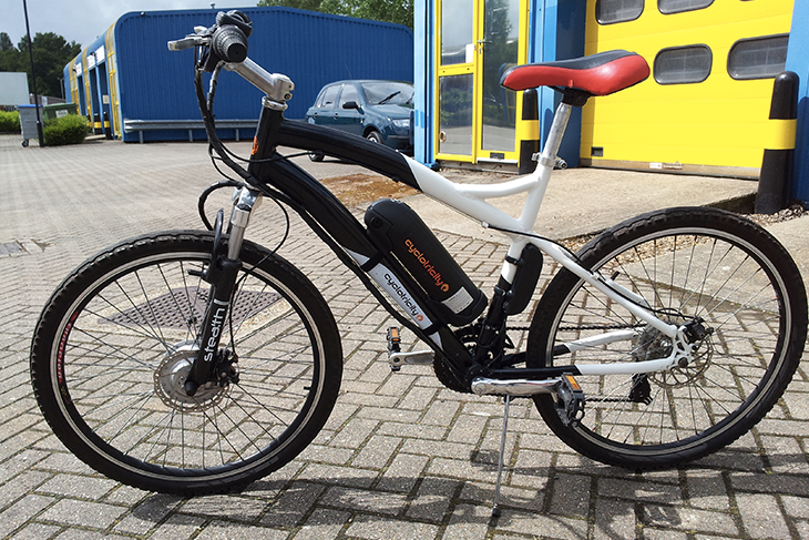 E-bike a pedalata assistita