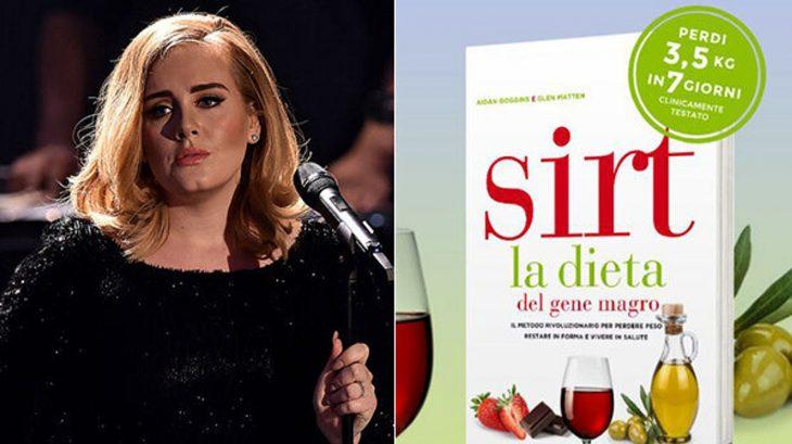 dieta sirt cantante adele