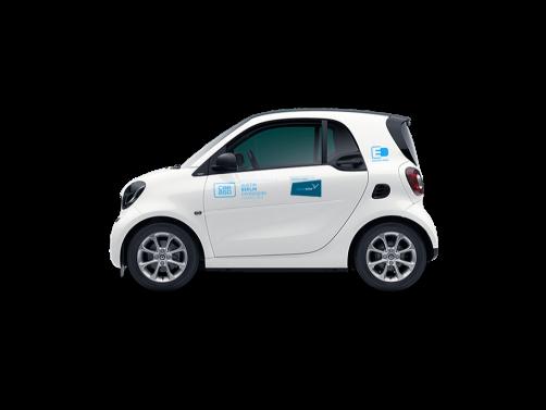 Car sharing Share Now Milano