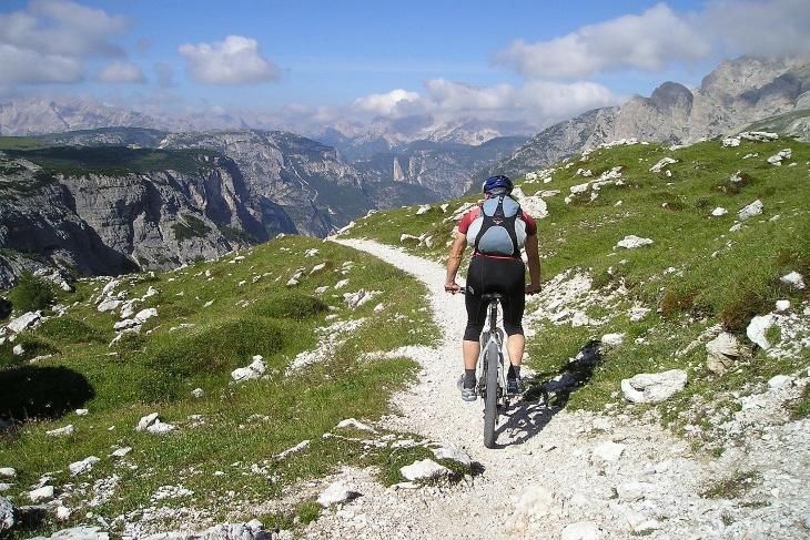 percorsi in mountain bike storia della MTB