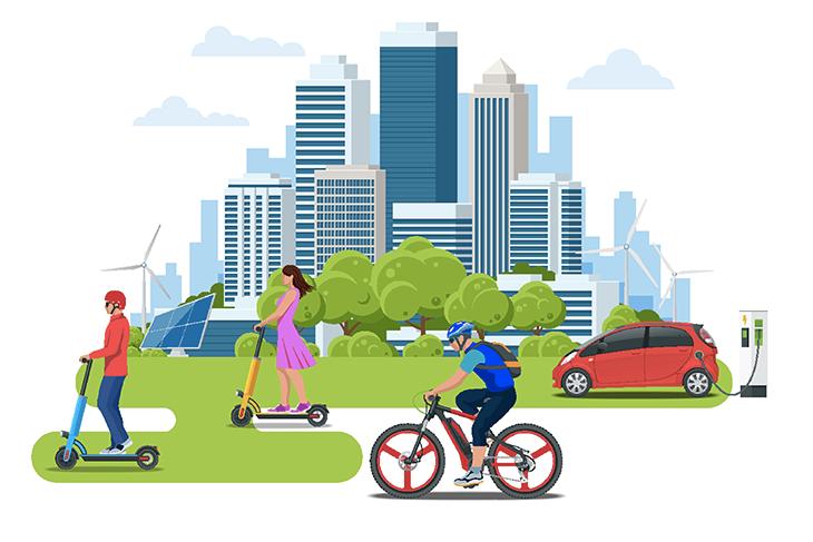 Smart Mobility Report 2020: la mobilità del futuro è elettrica e condivisa