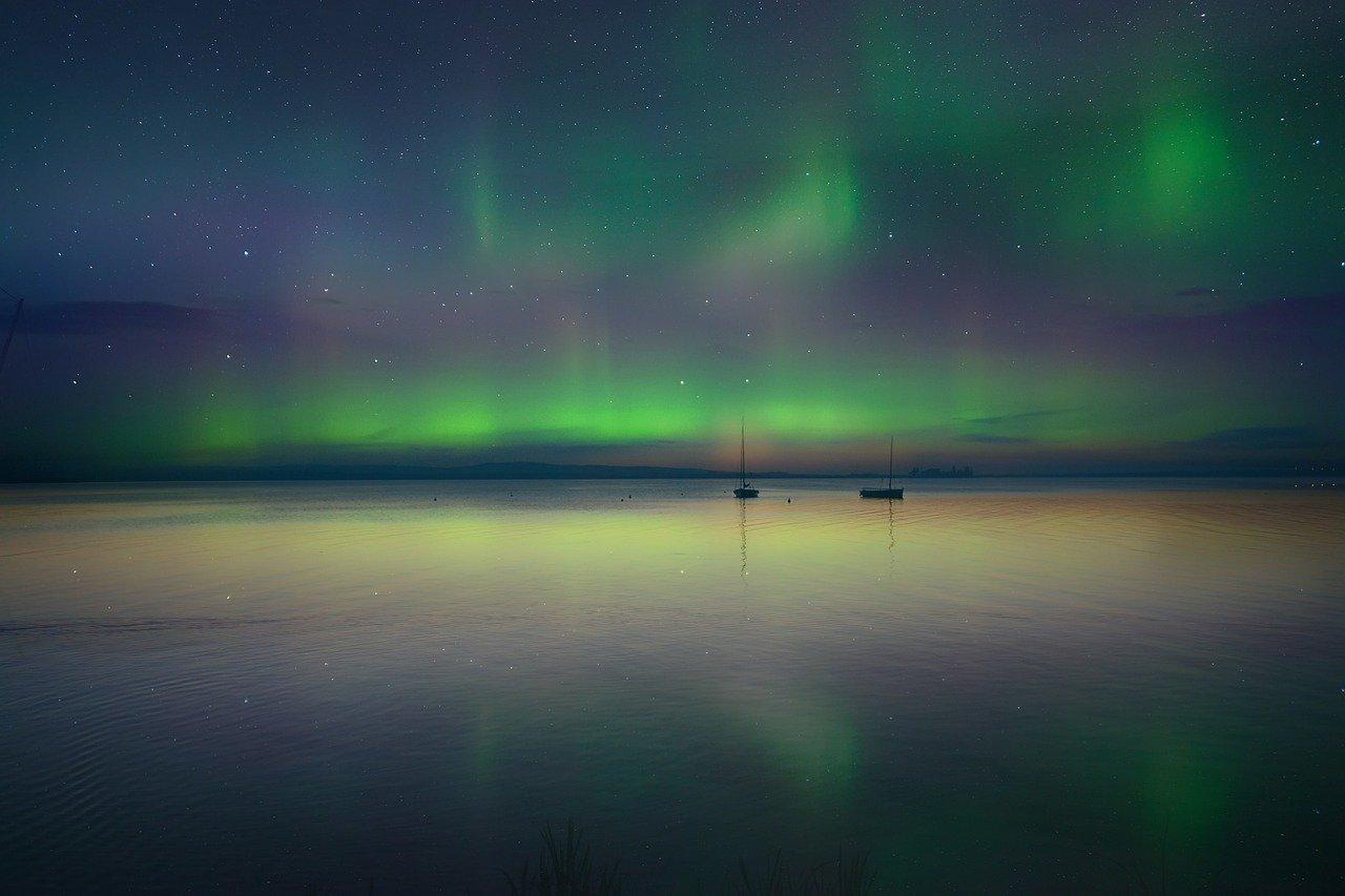 aurora boreale com'è fatta