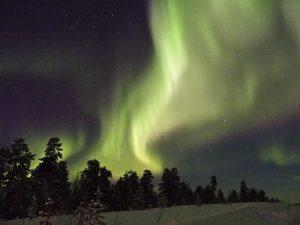 dove vedere l'aurora boreale in finlandia