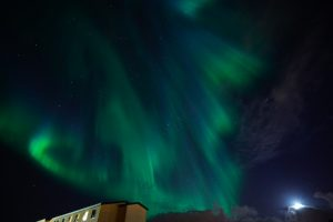 dove vedere l'aurora boreale in islanda