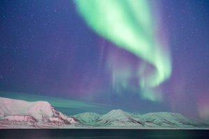 dove vedere l'aurora boreale alle isole svalbard