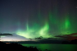 dove vedere l'aurora boreale in norvegia