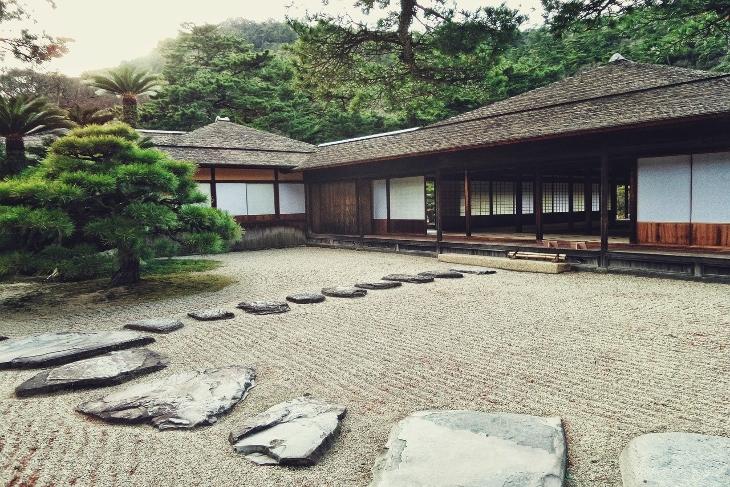 giardino zen karesansui